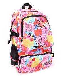 Hello Kitty Trendy School Bag Multi Color -  19 inches