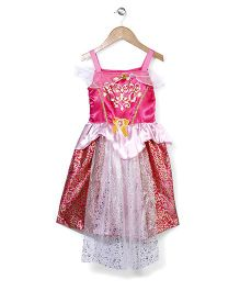 Superfie Glitter Princess Dress - Hot Pink