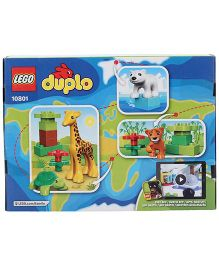 Lego Duplo Town Baby Animals Construction Set - 13 Pieces