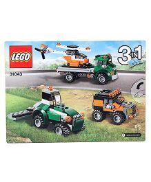 Lego Creator Chopper Transporter Construction Set - 124 Pieces