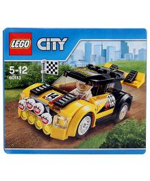 Lego City Great Vehicles Rally Car Construction Set - 104 Pieces