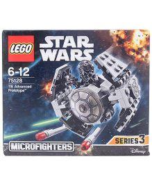 Lego Star Wars TM TIE Advanced Prototype - About 93 Pieces