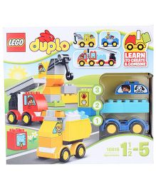 Lego Duplo My First My First Cars And Trucks - 36 Pieces