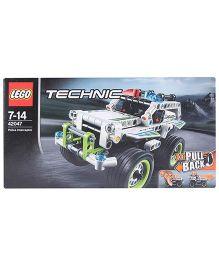 Lego Technic Police Interceptor Construction set - 185 Pieces