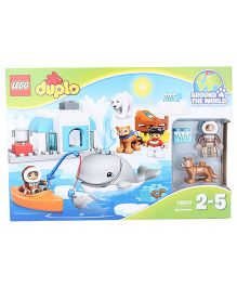 Lego Duplo Town Arctic Construction Set