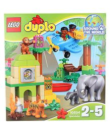 Lego Duplo Town Jungle Construction Set - 86 Pieces