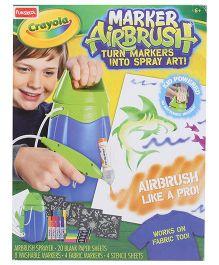 Funskool Crayola Marker Airbrush - Multicolor