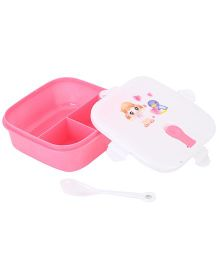 Lunch Box Floral Print - Pink