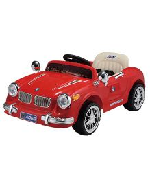 Markteck B WIld Vintage Battery Operated Car Ride On - Red