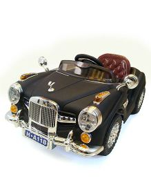 Marktech B WIld Vintage Battery Operated Car Ride On - Black