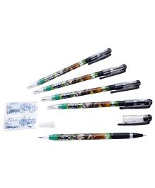 Ben 10 Gel Pen Plus Pencil - Pack OF 5