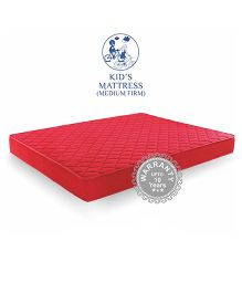 Amore Crystal Cool Foam Kids Mattress Medium - Red