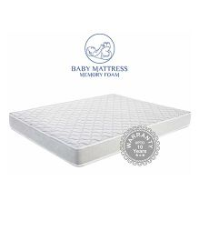 Amore Memory Foam Kids Mattress - White
