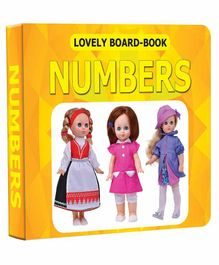 Lovely Board Book - Numbers