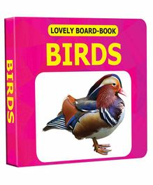 Lovely Board Book - Birds