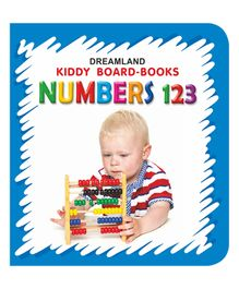 Kiddy Board Book - Numbers 123