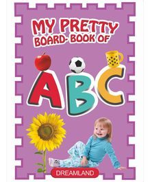 My Pretty Board Book - ABC