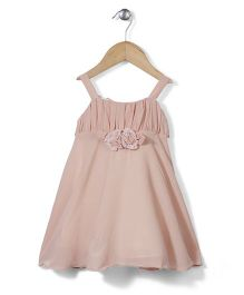 Little Coogie Tent Style Dress - Peach