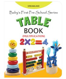 Baby's First Pre-School Series - Table Book