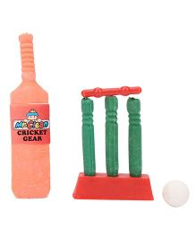 Mr. Cleen Cricket Set Shaped Eraser
