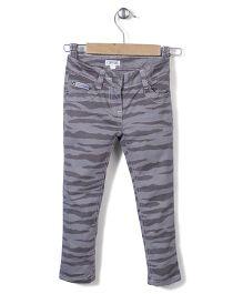 Enfant Stylish Jeans Pant - Khaki Grey