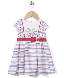 Enfant London Game Print Dress - Multicolour