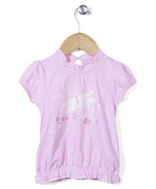 Enfant Beautiful Day Print Top - Pink