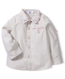Enfant Wish You All The Best Print Shirt - Cream