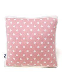 Pluchi Dot Design Baby Pillow - Pink