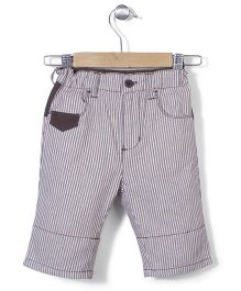 AZ Baby Stripe Half Pant - Brown