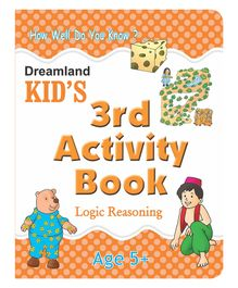 3rd Activity Book - Logic Reasoning