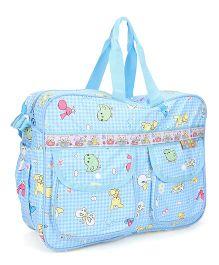 Mee Mee Nursery Bag Birdie Print - Blue