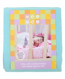 Mee Mee Total Dry And Breathable Mattress Protector Large - Green