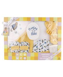 Mee Mee Clothing Gift Set Pack Of 8 MM 33072 - Yellow