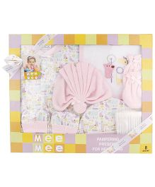 Mee Mee Clothing Gift Set Pack Of 8 MM 33073 - Pink