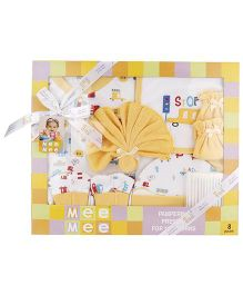 Mee Mee Clothing Gift Set Pack Of 8 MM 33073 - Yellow