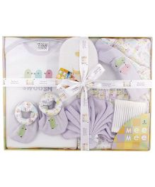 Mee Mee Clothing Gift Set Pack Of 8 MM 33075 - Purple