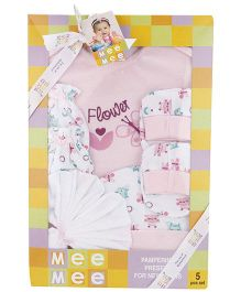 Mee Mee Clothing Gift Set Pack Of 5 MM 33087 - Pink