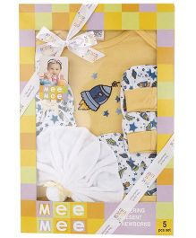 Mee Mee Clothing Gift Set Pack Of 5 MM 33087 - Yellow