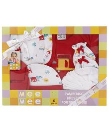 Mee Mee Clothing Gift Set Pack Of 6 MM 33088 - Red