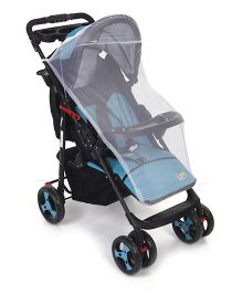 Mee Mee Pram With Mosquito Net - Blue