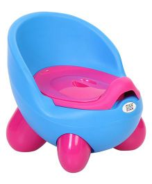 Mee Mee Colorful Potty Seat With Footstands MM P 2376 - Blue
