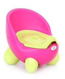 Mee Mee Colorful Potty Seat With Footstands MM P 2376 - Pink