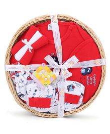 Mee Mee Clothing Gift Set Pack Of 7 MM 33085R - Red