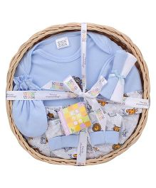 Mee Mee Clothing Gift Set Pack Of 7 MM 33086R - Blue