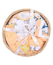 Mee Mee Clothing Gift Set Pack Of 7 MM 33086R - Peach