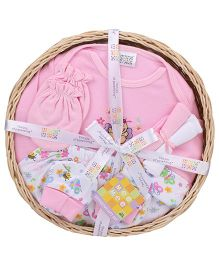 Mee Mee Clothing Gift Set Pack Of 7 MM 33086R - Pink