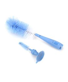 Mee Mee Bottle and Nipple Cleaning Brush - Blue