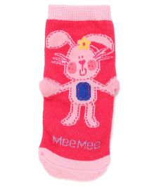 Mee Mee Bottle Protection Safety Bag Rabbit Design - Pink