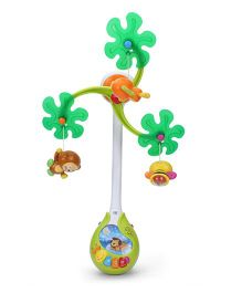 Mee Mee 3-in-1 Musical Rattle Cot Mobile - Multi color